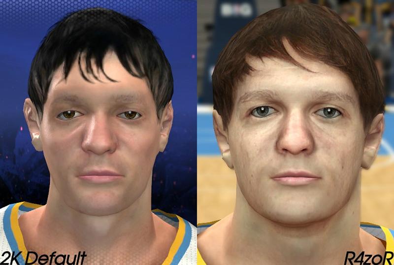 NBA 2K14 Timofey Mozgov Face Mod