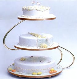 How To Make Your Own Square Wedding Cake Stand