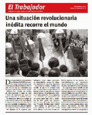Una situación revolucionaria inédita recorre al mundo