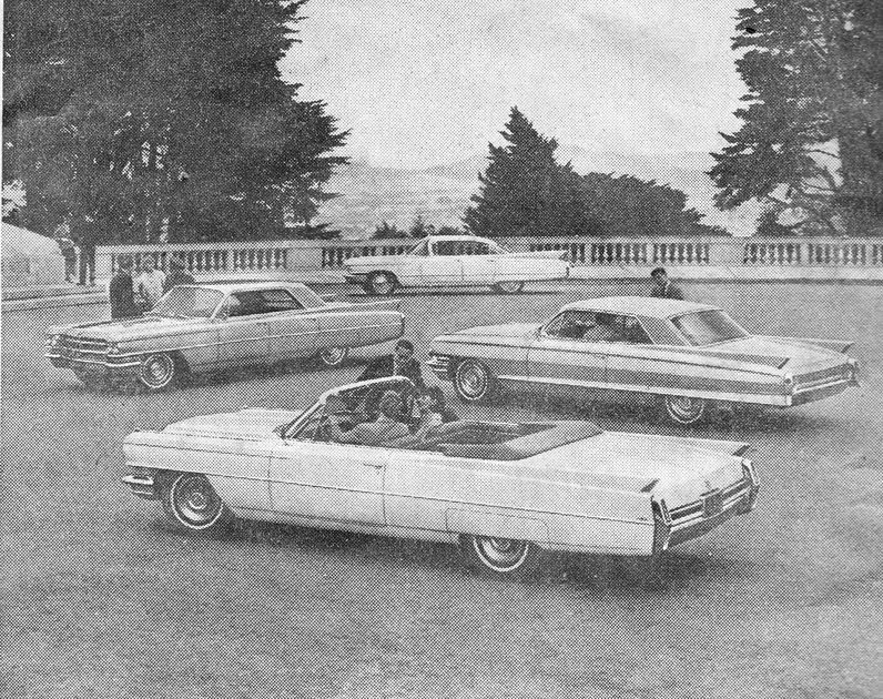 retro rockets cadillac newspaper ads from 1964. Cars Review. Best American Auto & Cars Review