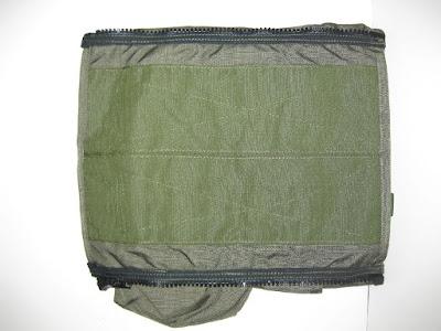 Paraclete Smoke Green RAV, RMA Vest Zipper Back Panel with Pouches