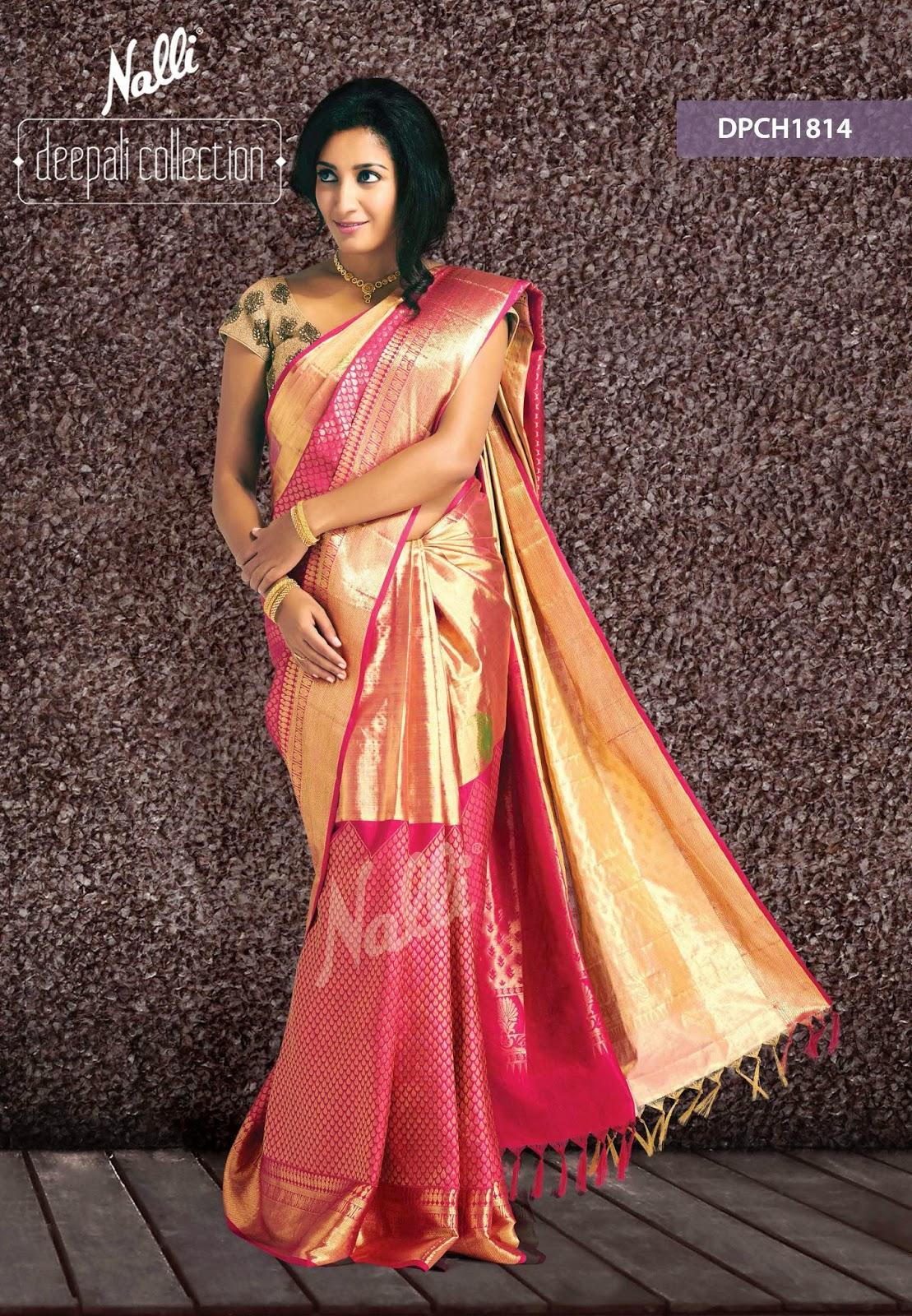Nalli Silks Diwali Collections