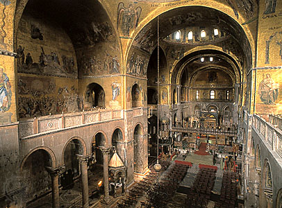 Art now and then basilica di san marco venice for Interno basilica san marco