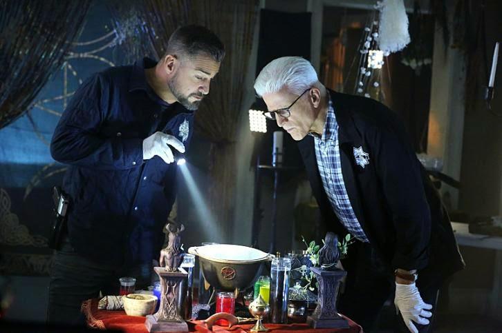 CSI: Las Vegas - Episode 15.04 - The Book of Shadows - Promotional Photos