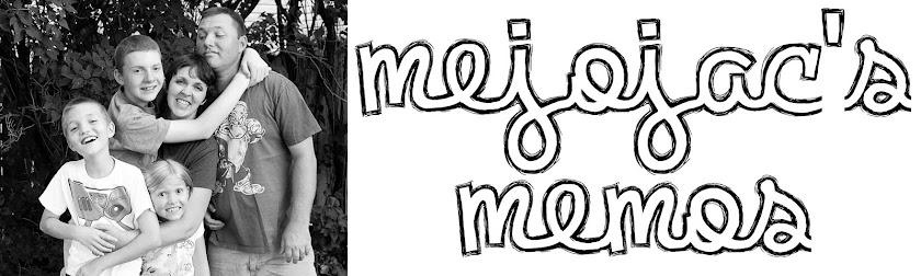 Mejojac's Memos