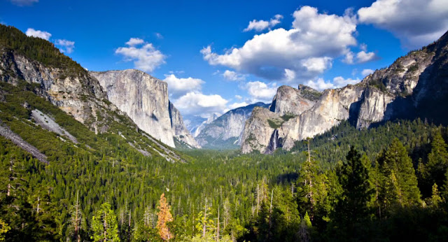 Yosemite time lapse video