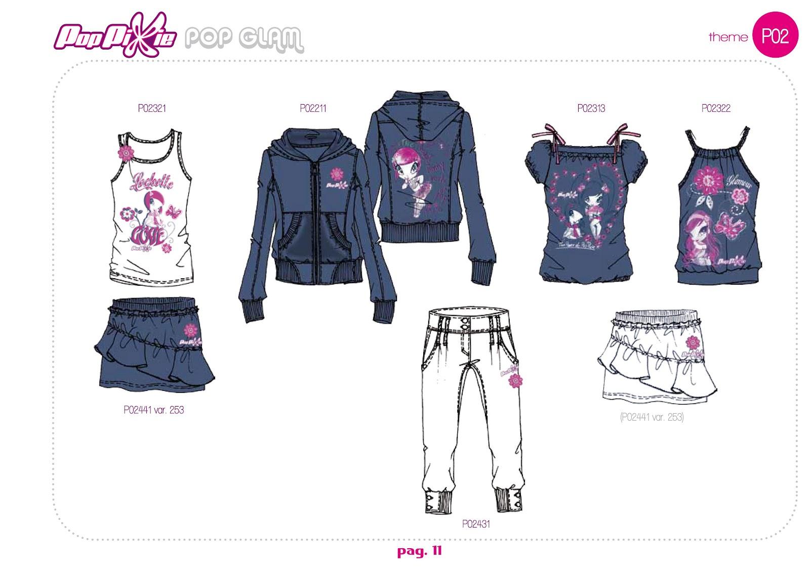 Nueva coleccion de ropa pop pixie primavera verano 2012 for Coleccion friends