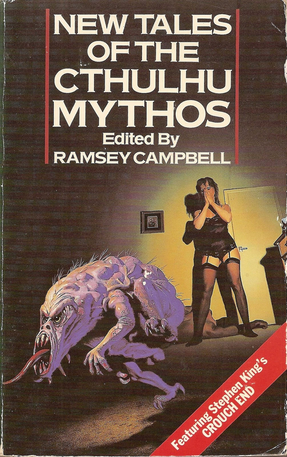 New Tales of the Cthulhu Mythos - ed. Ramsey Campbell