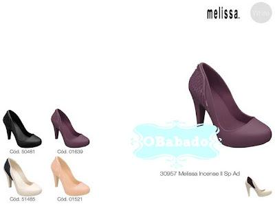 Fotos da Coleção Melissa 2013