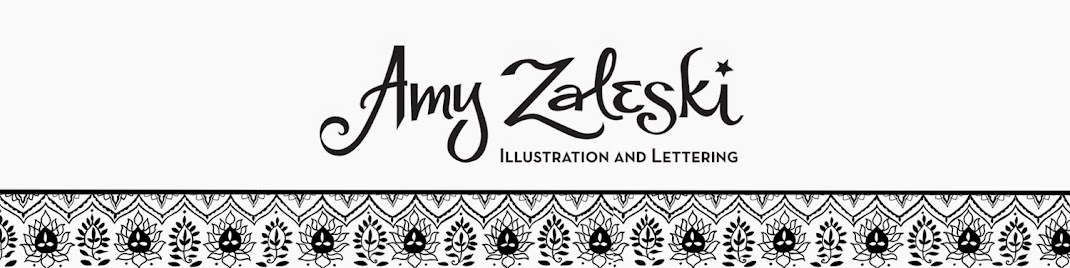Amy Zaleski Illustration & Lettering