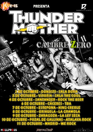 THUNDERMOTHER EN ESPAÑA