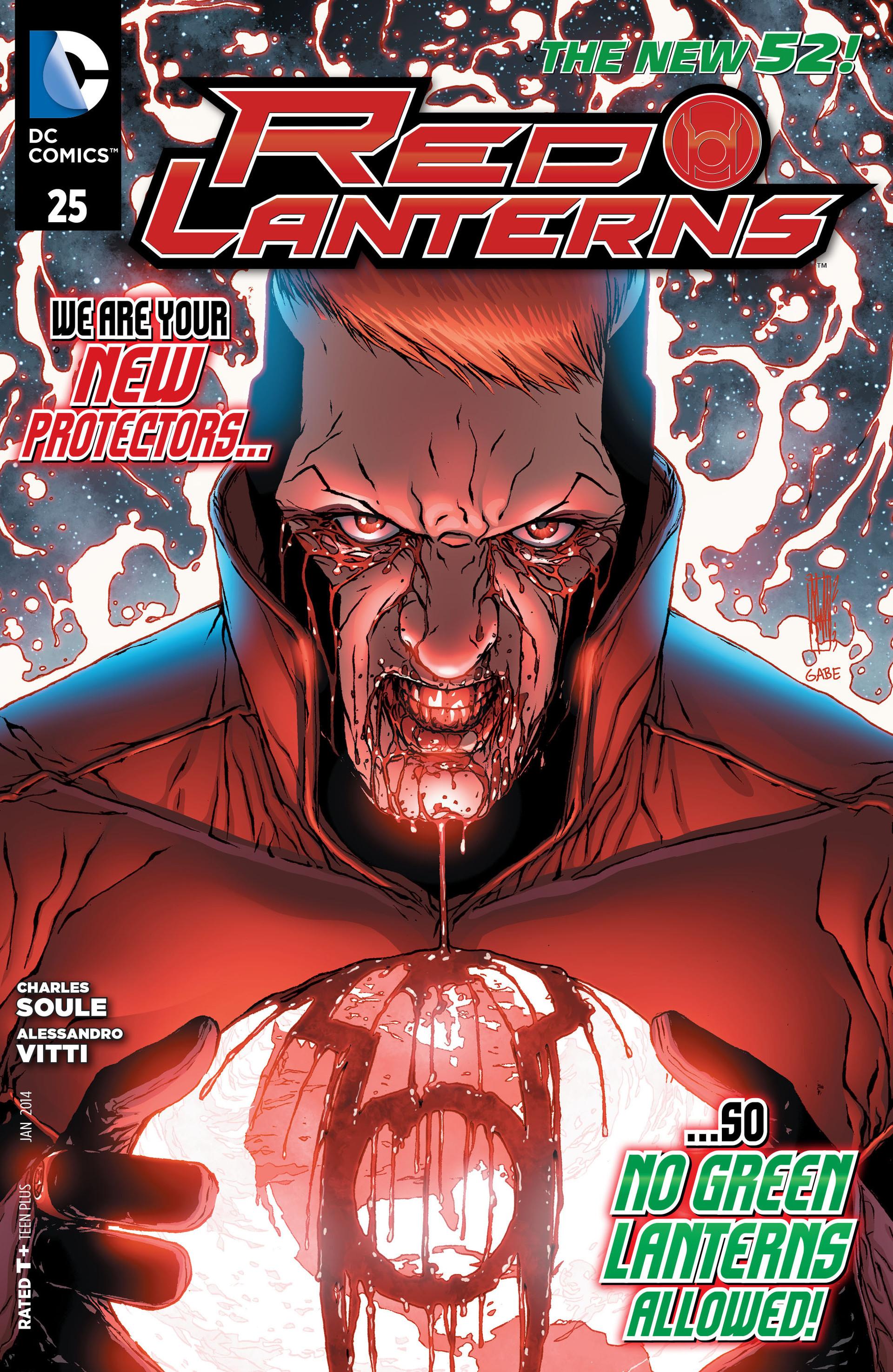 Red Lanterns 25 Page 1