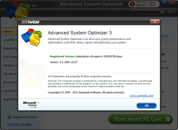 advance system optimizer 3.5 screenshot01 Advanced System Optimizer 3