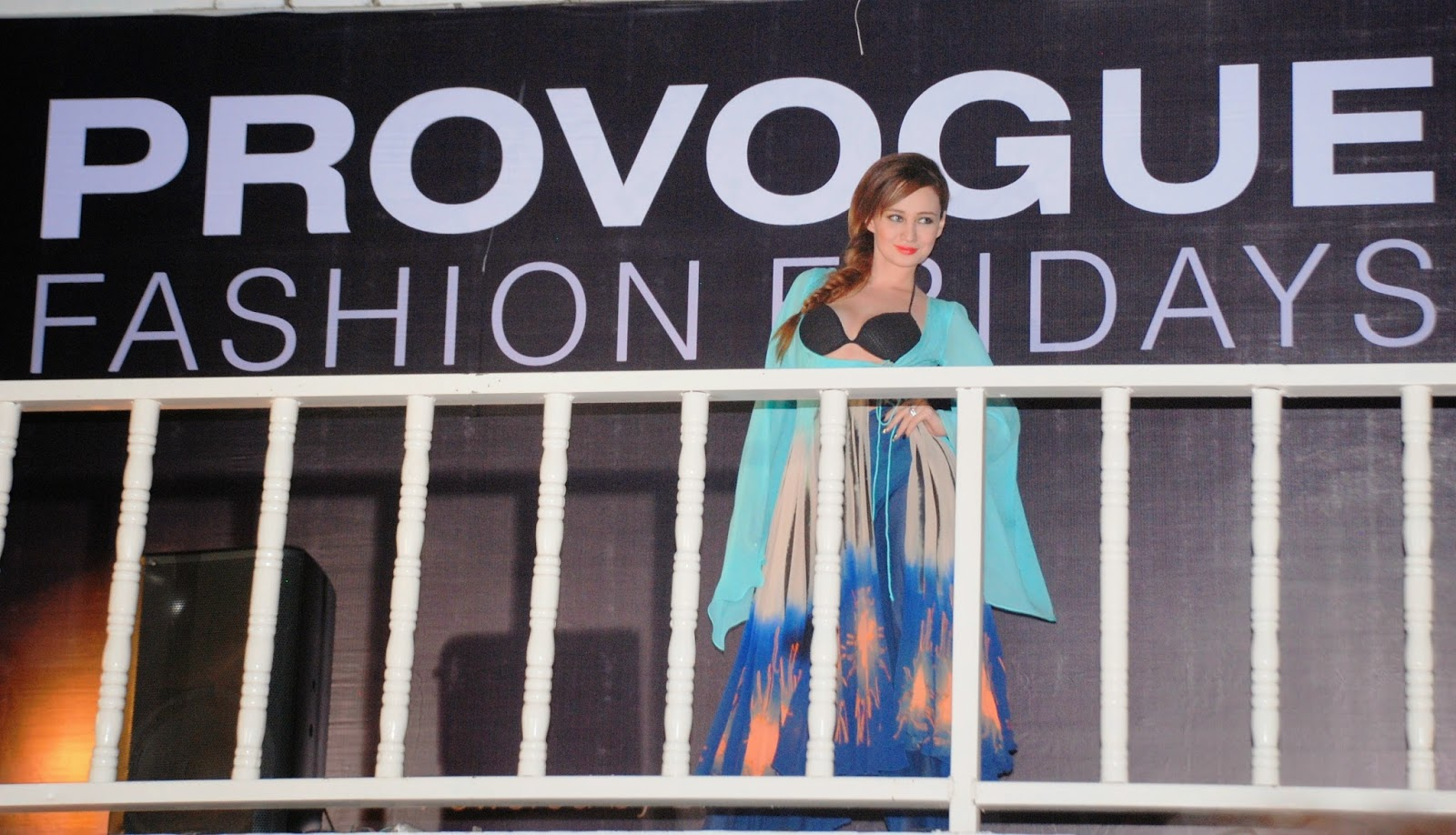 Stephanie Timmins for Babita Malkani at Provogue Fashion Fridays