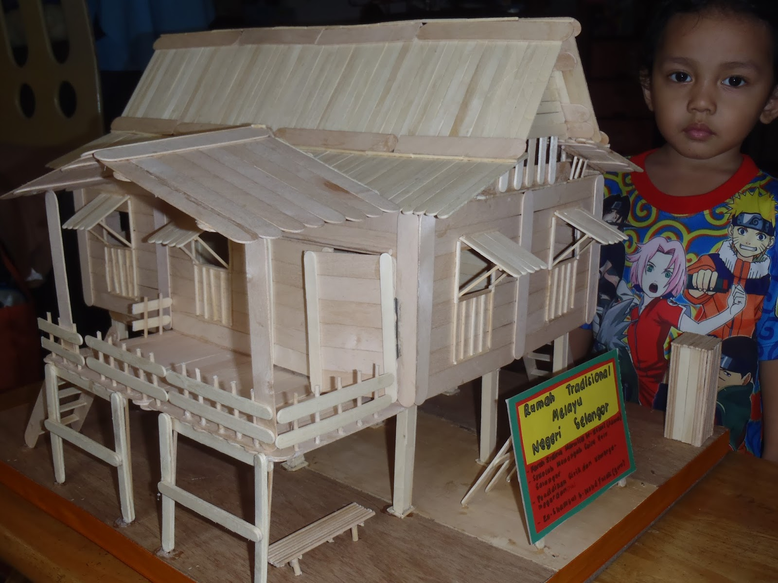 Story of my life d 39 project the mini malay tradisional for Project house