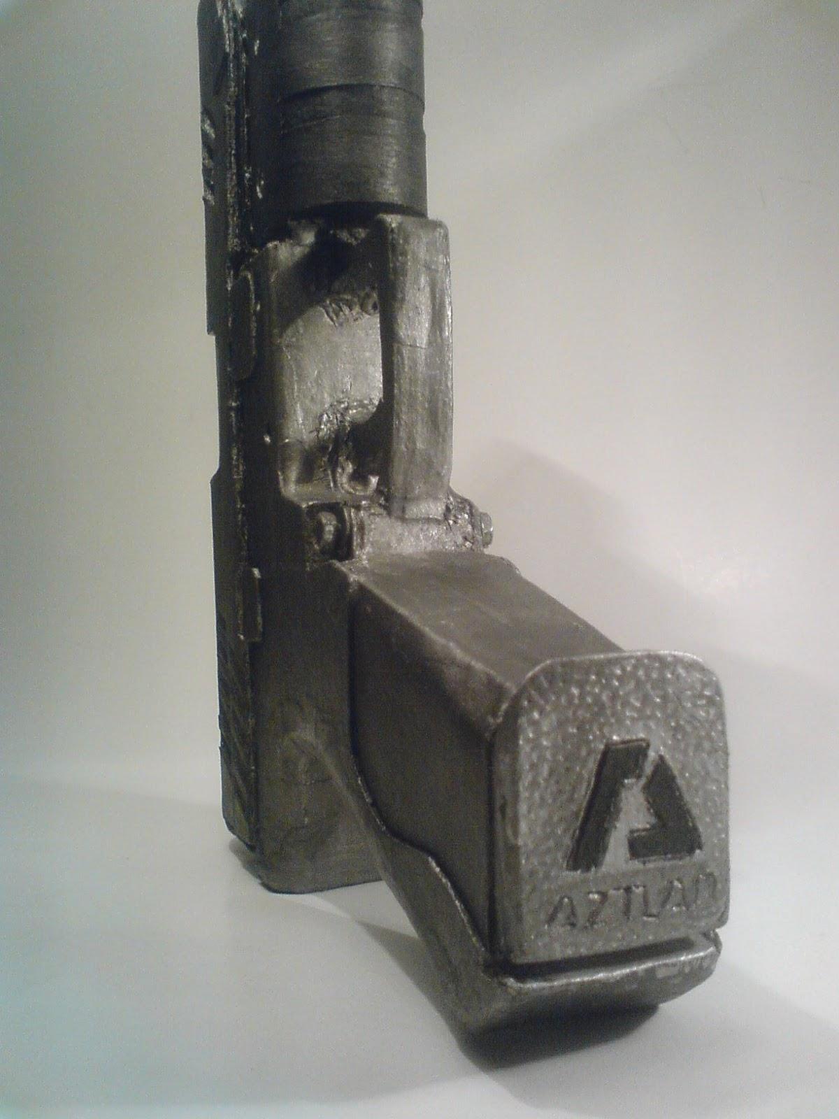 Pistola Blacktail - Resident Evil DSC04524