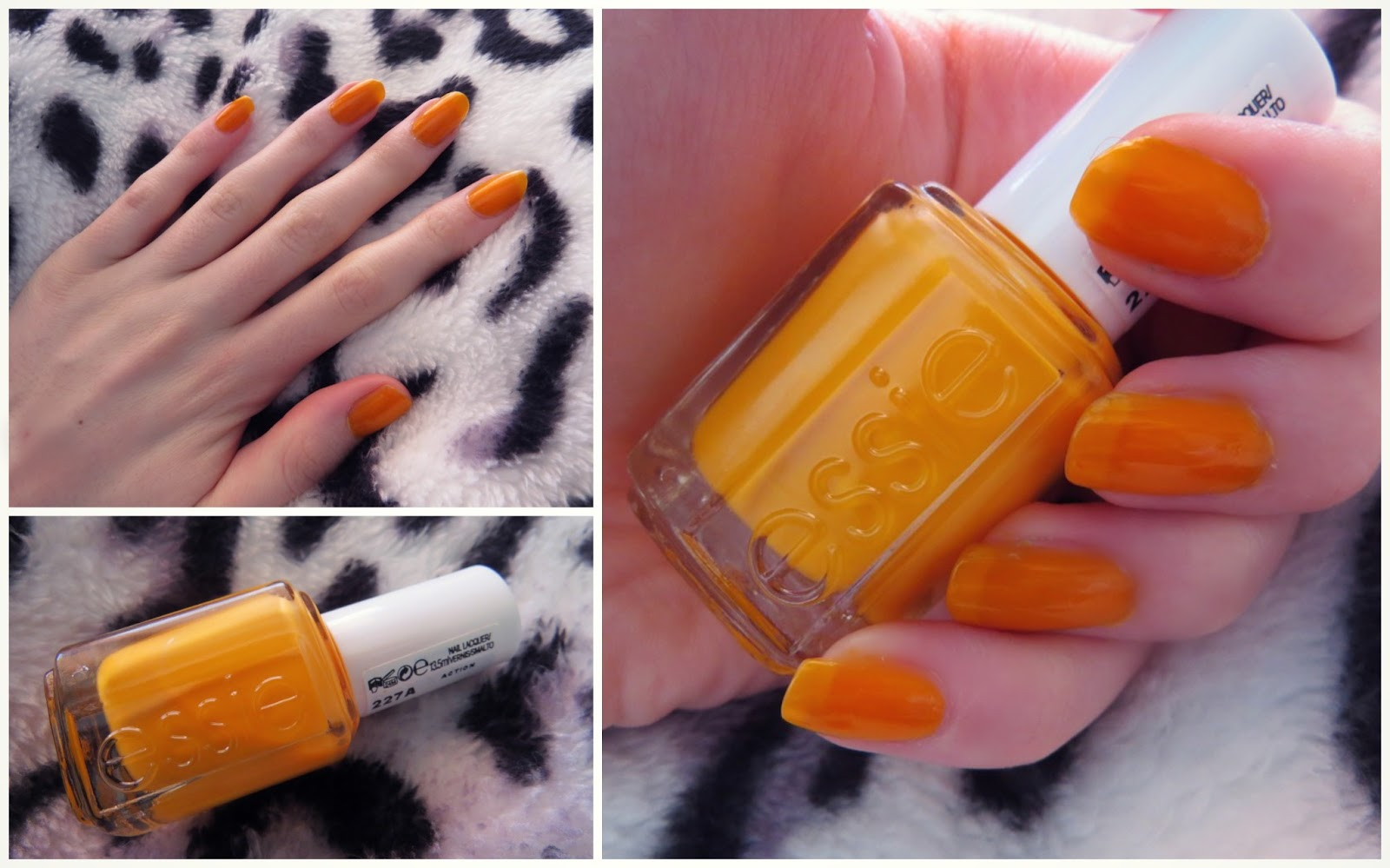 Essie \'Action\' Nail Polish | Review | THUNDER AND THREADS