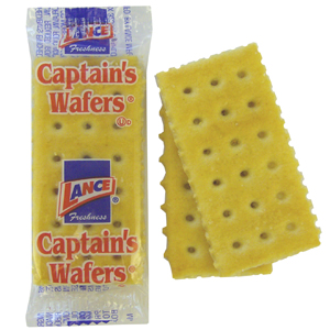 Lance Captains Wafers, Crackers per pack (Pack of)