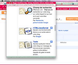 html javascript sur blogger
