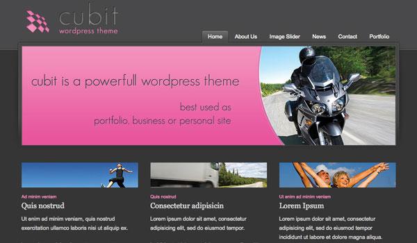 Cubit Wordpress Theme