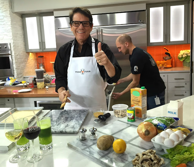 Anson Williams on the Today Show for The Perfect Portion cookbook