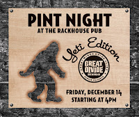 Rackhouse Yeti Pint Night