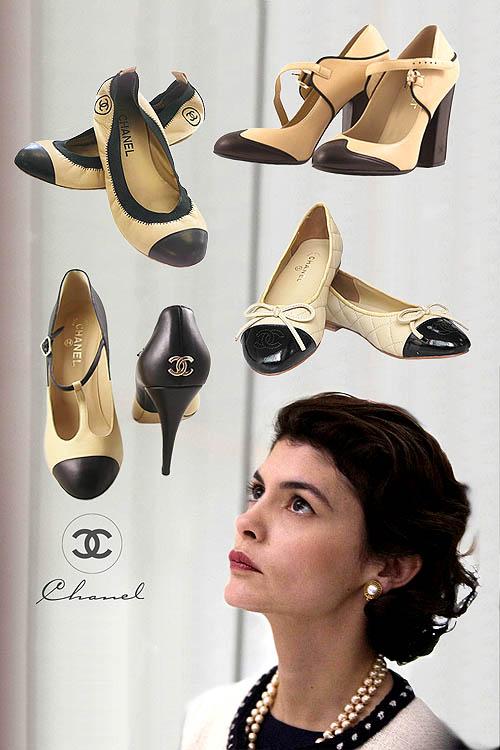 Sepatu Wanita Coco Chanel The Two Tone