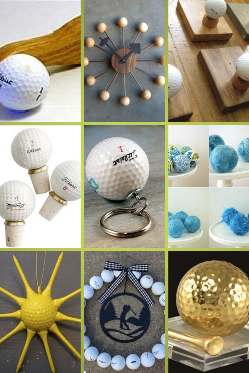 Golf girl 39 s diary creative crafters give new life to old for Four man rubber life craft