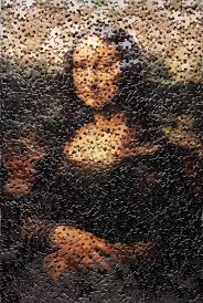 Vik Muniz La Joconde
