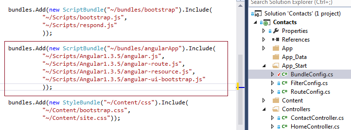 how to use add on with angularjs version 4
