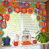 Flower Crochet Curtains DIY