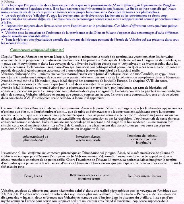 r 233 sum 233 de candide ou l optimisme voltaire2 موسوعة الاحلام