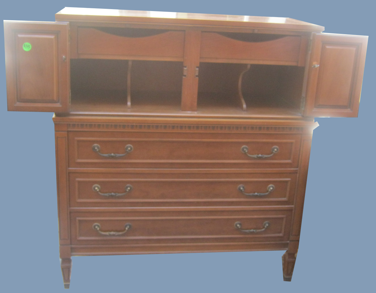 #8C603F Uhuru Furniture & Collectibles: Vintage Chest With Drawers And Shelves  with 1316x1028 px of Recommended Shelves With Drawers Furniture 10281316 save image @ avoidforclosure.info