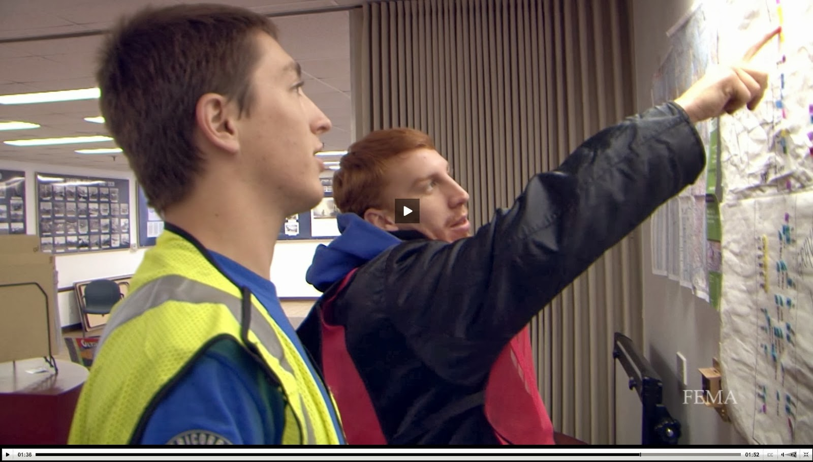 Video of FEMA Corps members work to rebuild after hurricane sandy
