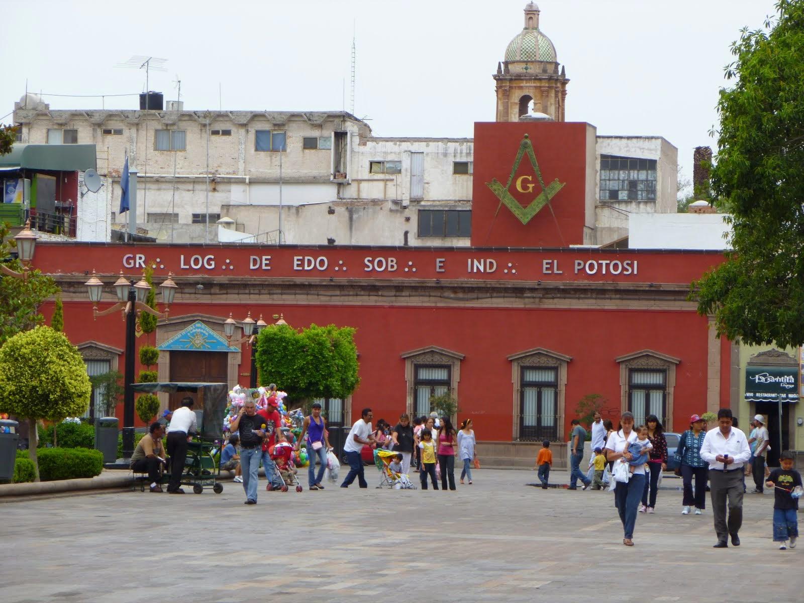 """Gr.·. Log.·. de Estado, Sob.·. e Ind.·. """"El Potosí"""""""
