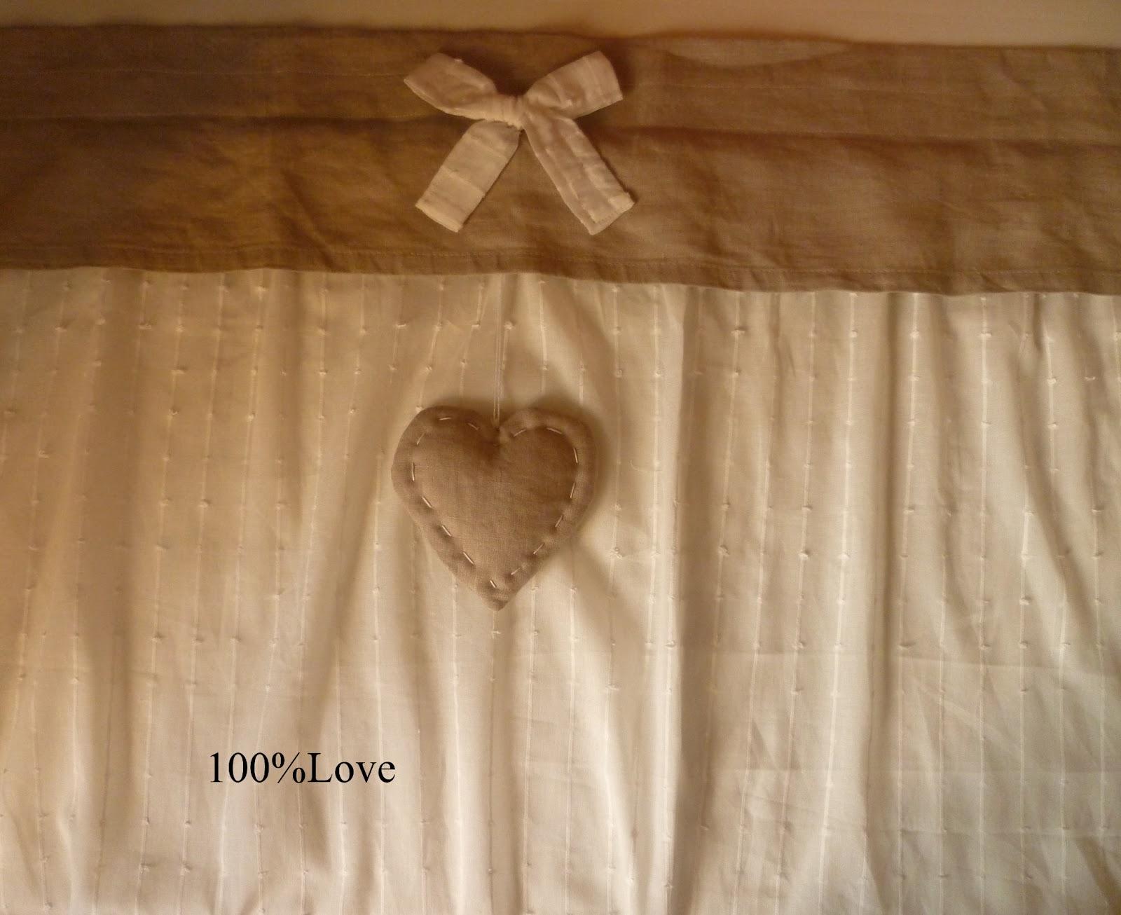 100 love tende e cuscini for Tende shabby chic ikea
