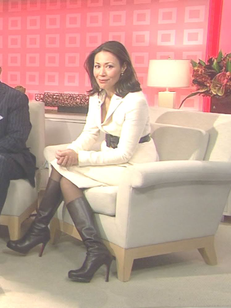 Boot Nation Celebrity Boot Month Japanese Ann Curry