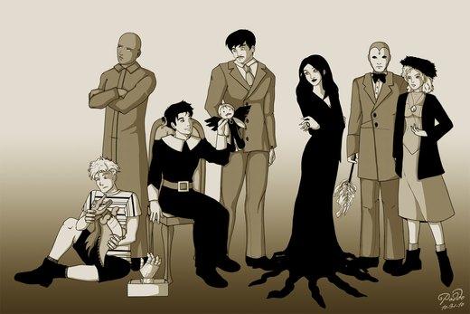 The Fanboys Family por ishipit