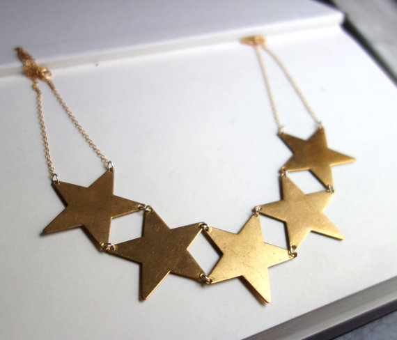 https://www.etsy.com/listing/178382493/double-linked-star-necklace