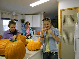 Pumpkin and Squmpkin harvest at Cedar Ridge Academy co-ed therapeutic boarding school