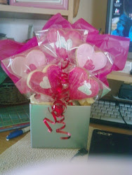 Cookie Bouquet ''Box of Love''