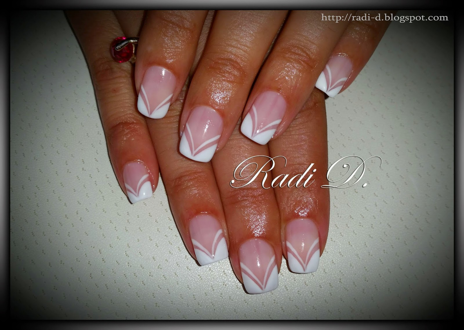 It`s all about nails: Some designs with French