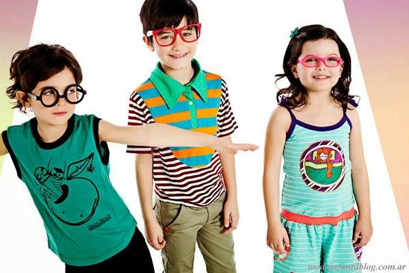 Ropa para niños verano 2014 Chucho Manucho moda infantil 2014.