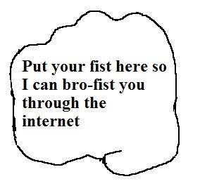Tug of War III Brofist_through_the_internet