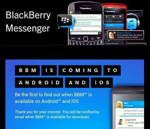 Download Aplikasi Blackberry Messenger Android iOS