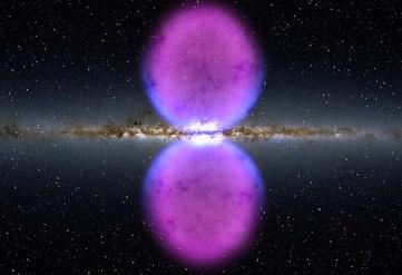 O Grande Pulso da Via Láctea - Foto Telescópio Fermi da Nasa. Grande luz espiritual está chegando.