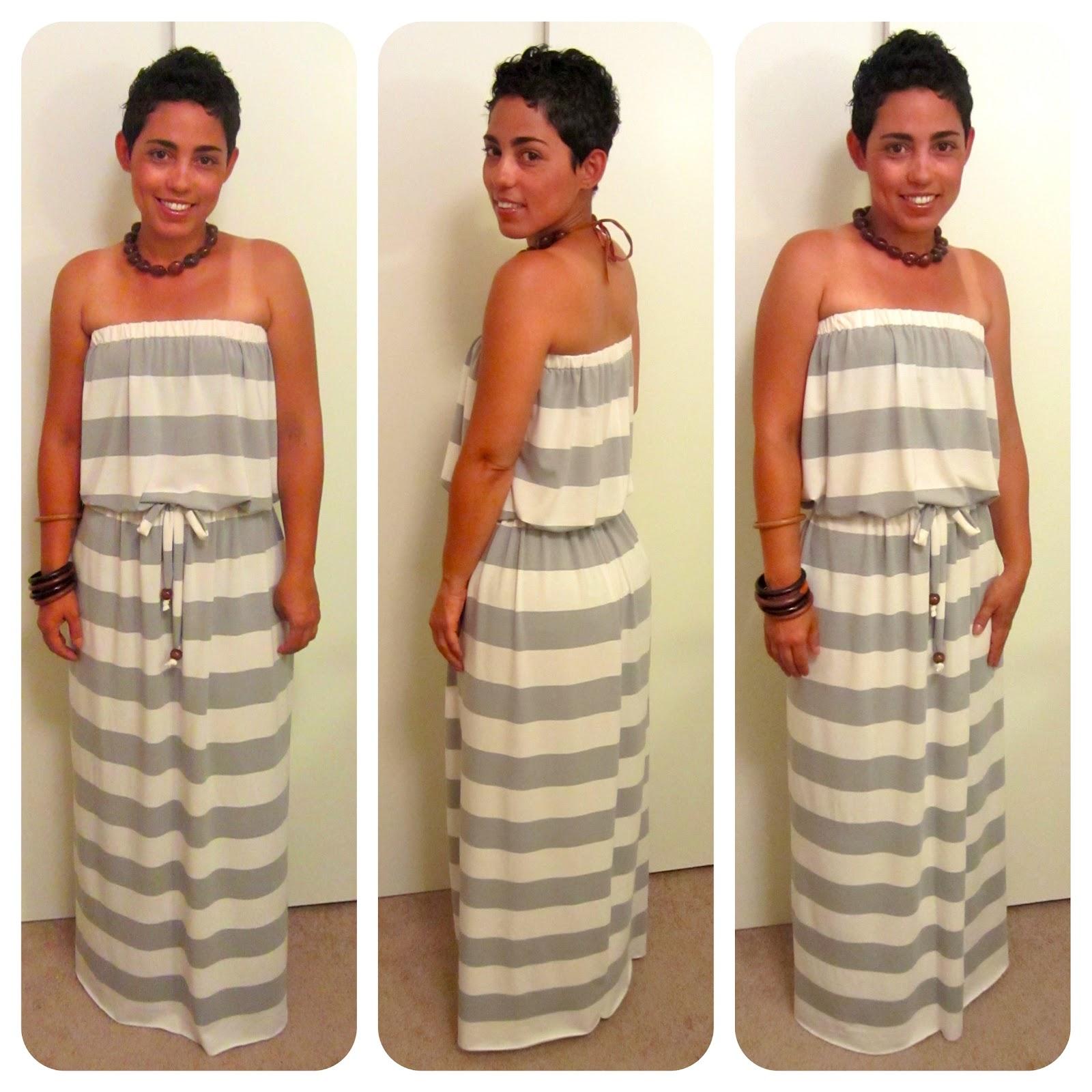 maxi dress tutorial fashion lifestyle and diy