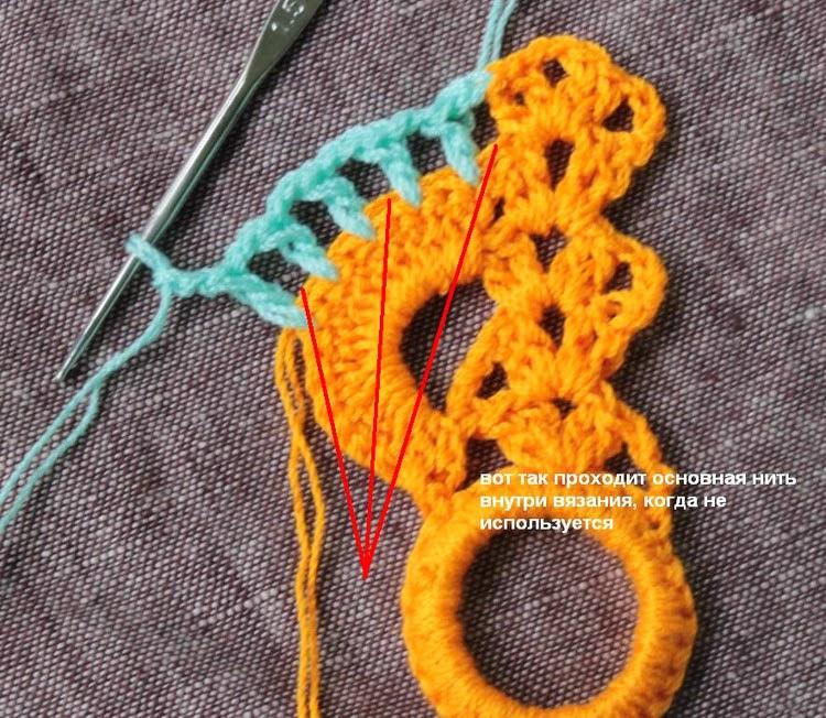Мастер класс по вязанию шарфа для ребенка 193