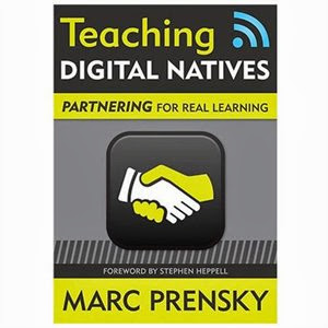 book jacket for Mark Prensky's book Teaching Digital Natives