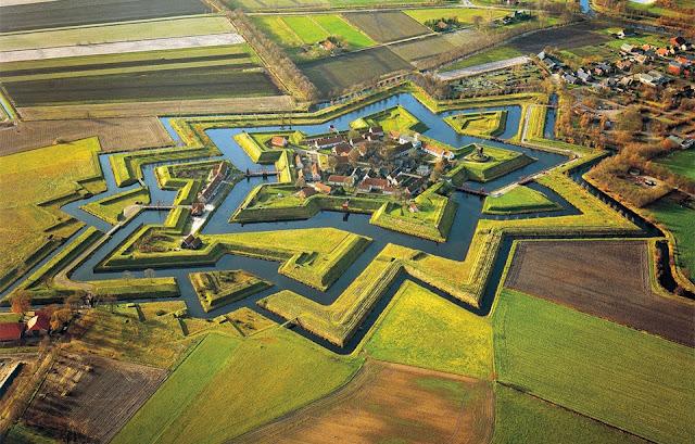 Fort Bourtange, Netherland